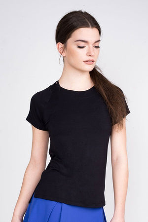 Sano Tee with Mesh Open Back - Tonic Lifestyle Apparel - My Legwear Shop