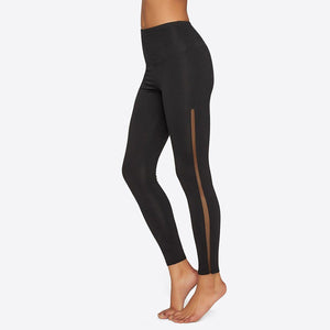 Legging with Mesh Elastic Sides - Yummie Life - My Legwear Shop