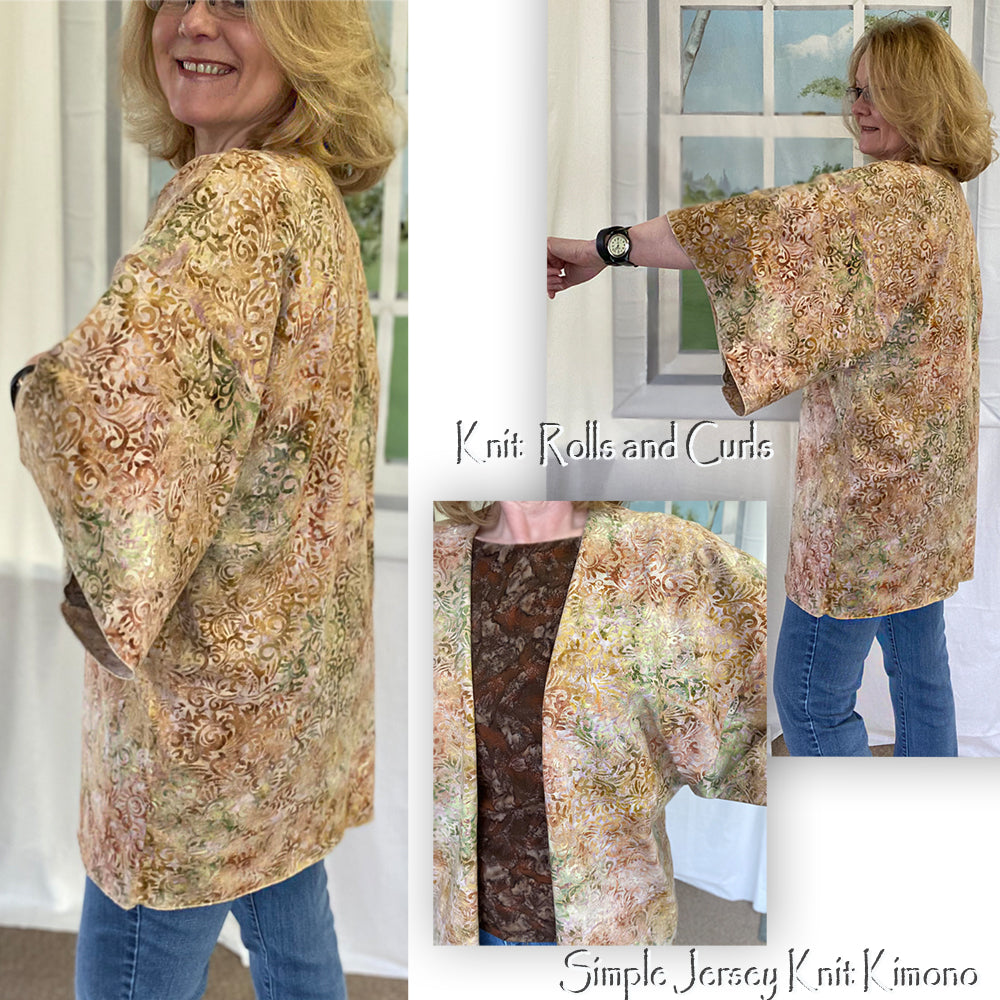 Let's Make a Simple Kimono - Using your Serger