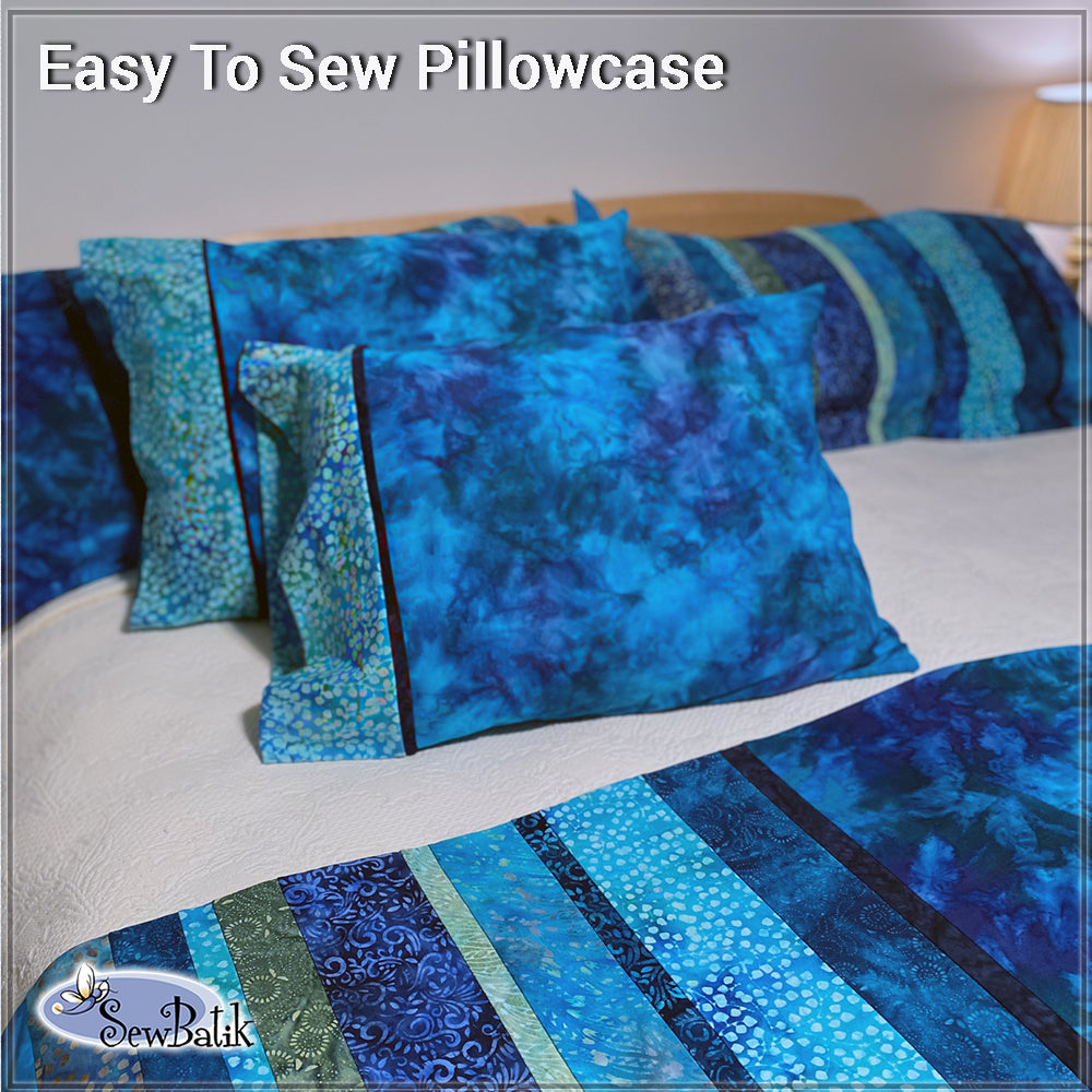 Easy Pillow Case From Jersey Knit