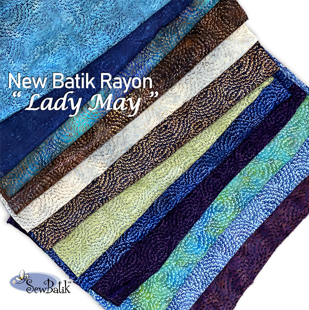 "45"" Batik Rayon - Lady May"