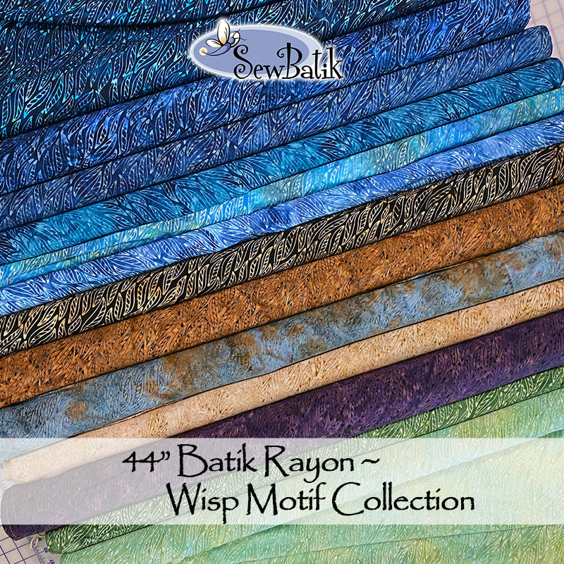 Batik Rayon - Wisp Collection