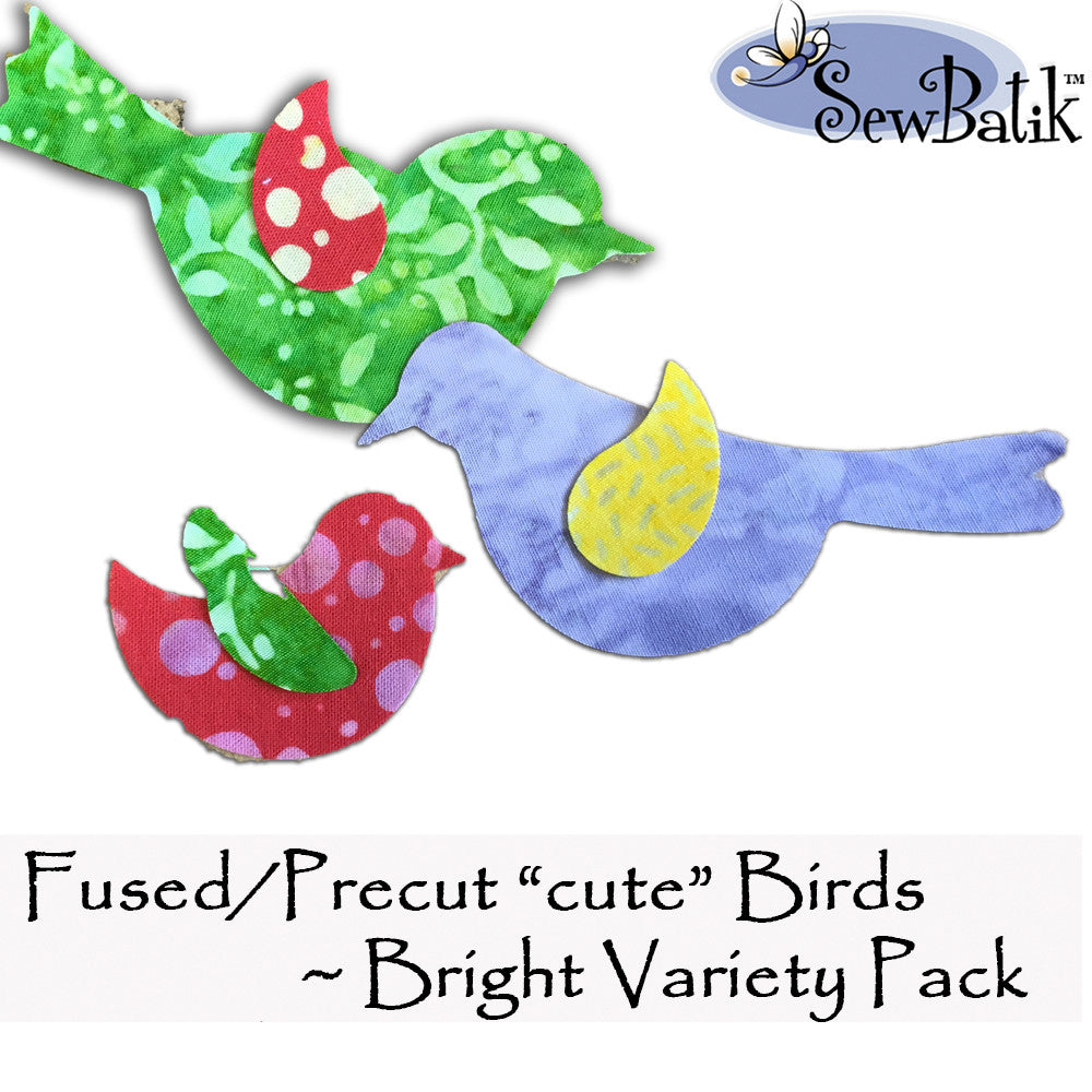 Birds - Precut and Fused