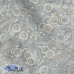 "115"" Wide Batik - Medora Flora - Chrome"