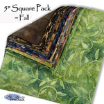"5"" Square Pack - Fall"