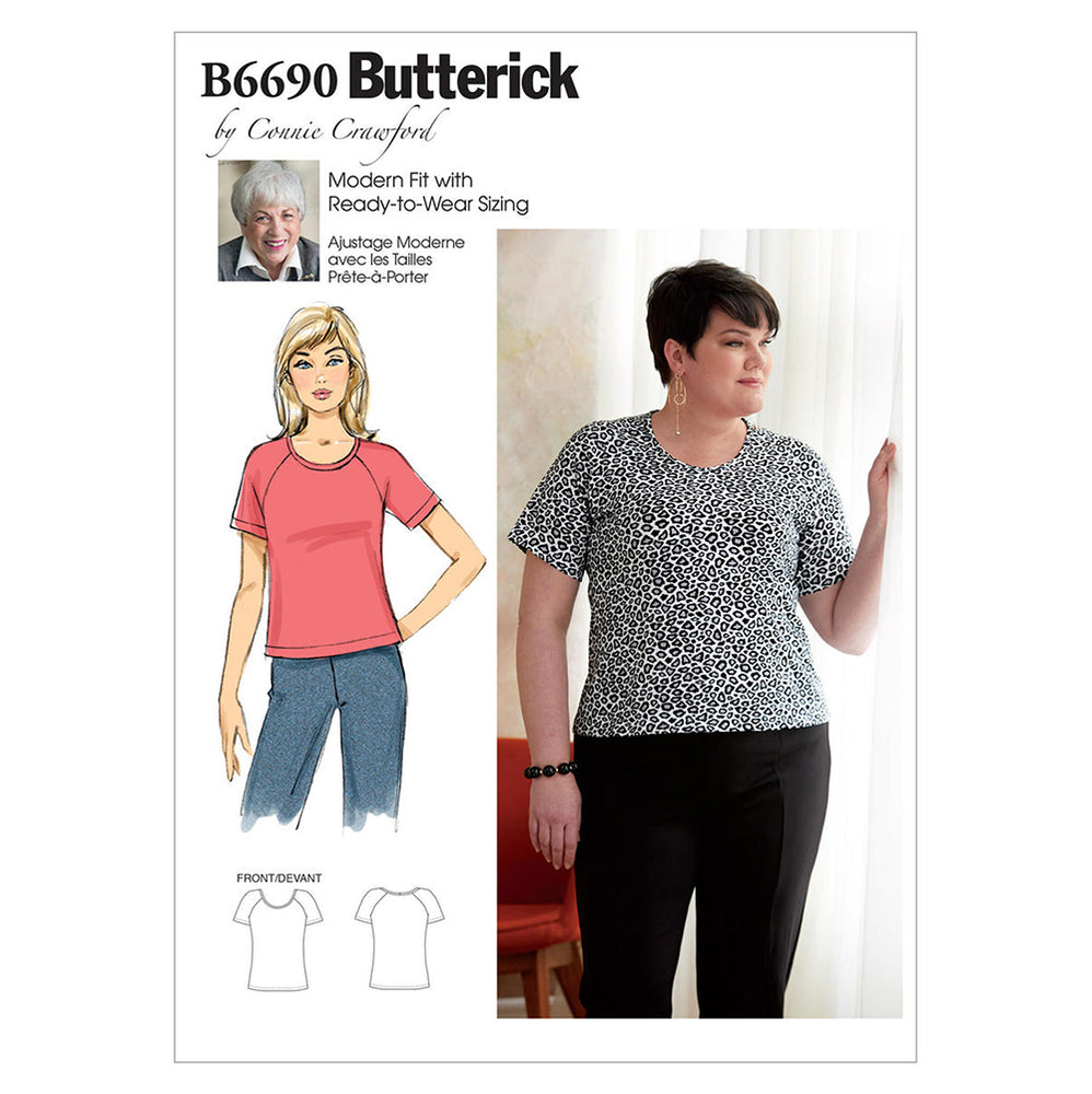 Fashion Duo - Jersey Knit + Butterick 6690