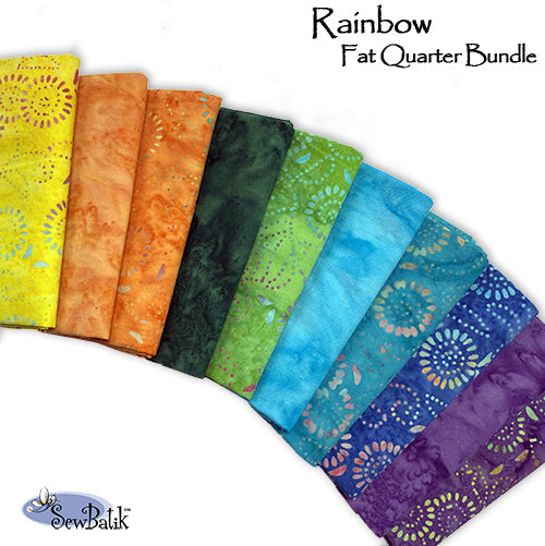 Cotton Bundle: Rainbow