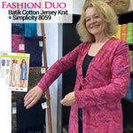 Fashion Duo - Jersey Knit Duster
