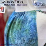 Fashion Duo: Batik Rayon & McCall's 7405 Sundress