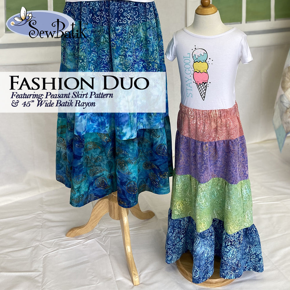 Fashion Duo: Peasant Skirt - Little One