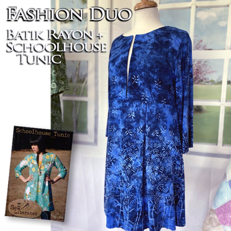 Fashion Duo: Batik Rayon + Schoolhouse Tunic