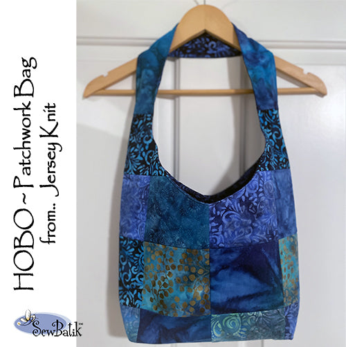 HOBO Patchwork Bag Kit - Blue