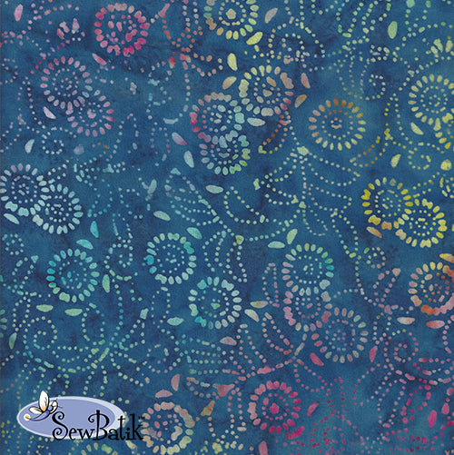 Jersey - Medora Flora - Nautical Blue