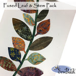 Leaf & Stems - Precut and Fused