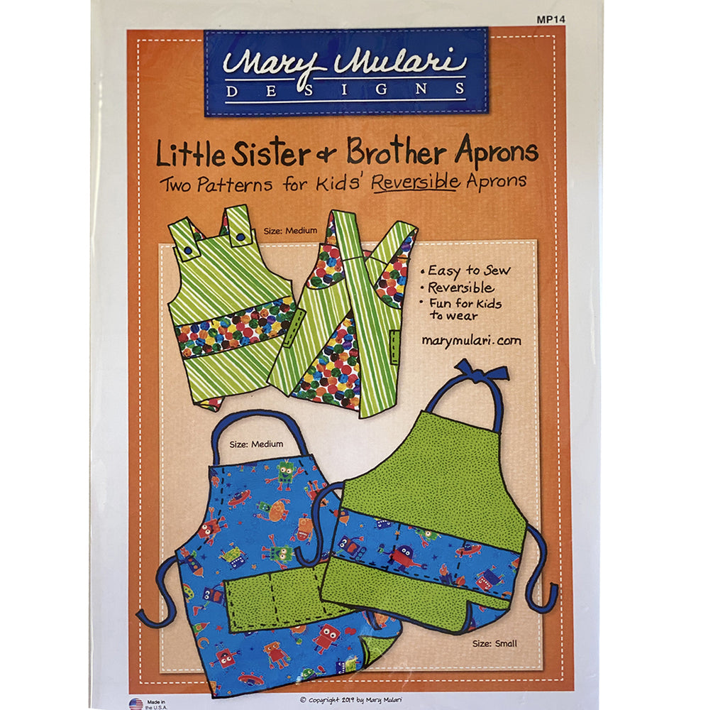 Little Sister & Brother Aprons