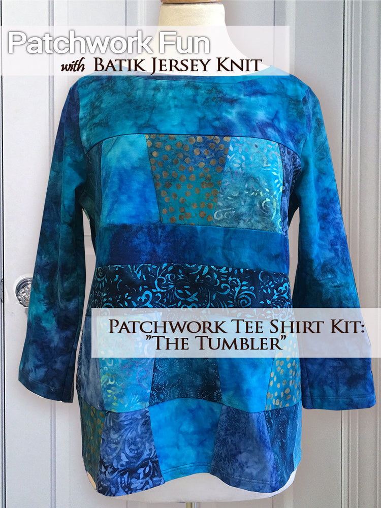 Patchwork Tee Shirt Kit - The Tumbler