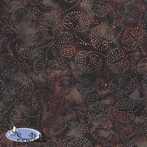 "45"" Rayon - Pinpoint Leaf - Brown Bark"