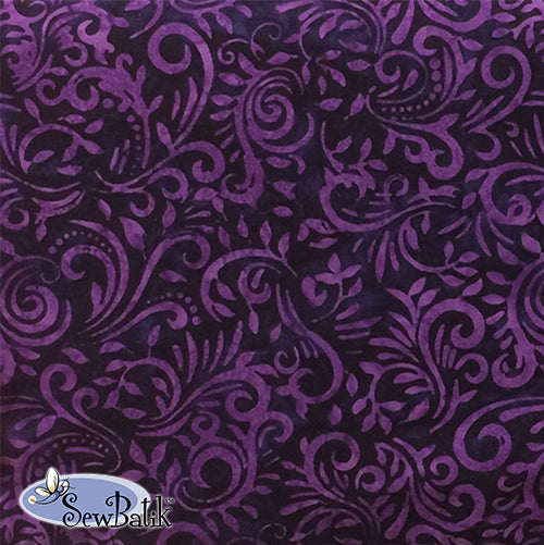Batik Rayon - Phoenix - Purple Magic