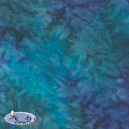 Batik Rayon - Spray - Lake