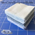"Mini Charm Background Builder: (231) 2 1/2"" Squares"