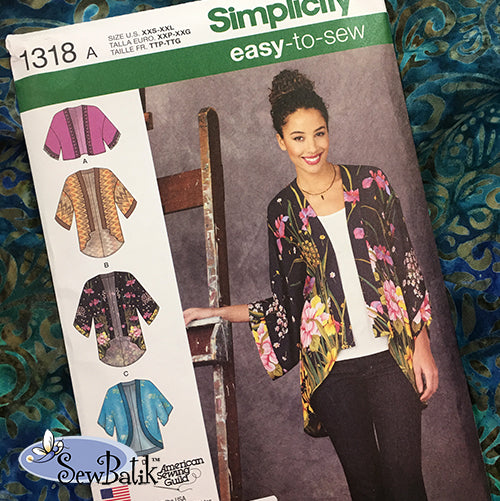 Simplicity 1318 / Rayon Duo (Small)