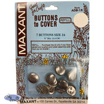 "Buttons to Cover - Size 24 (5/8"")"