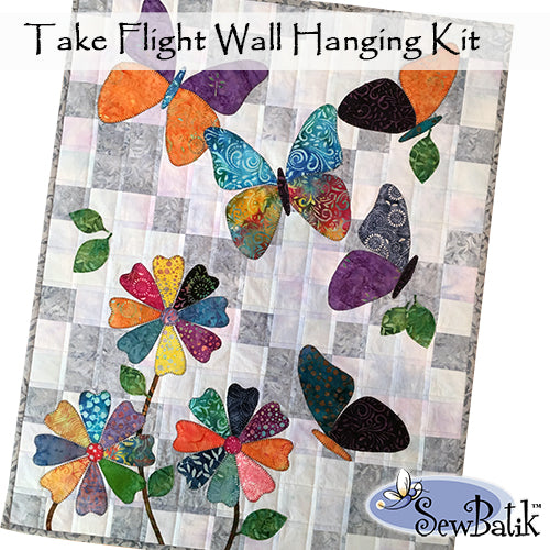 Take Flight Wall Hanging ~ Backing/Binding