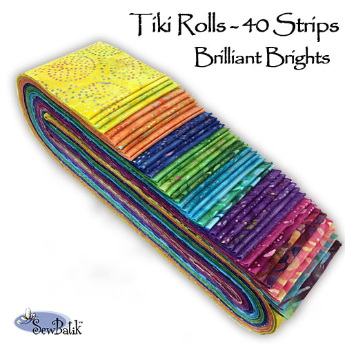 Tiki Rolls - Brilliant Brights