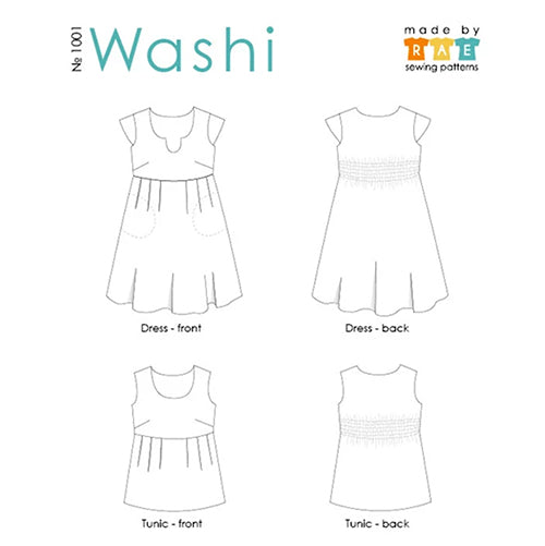 Washi Pattern - Outline