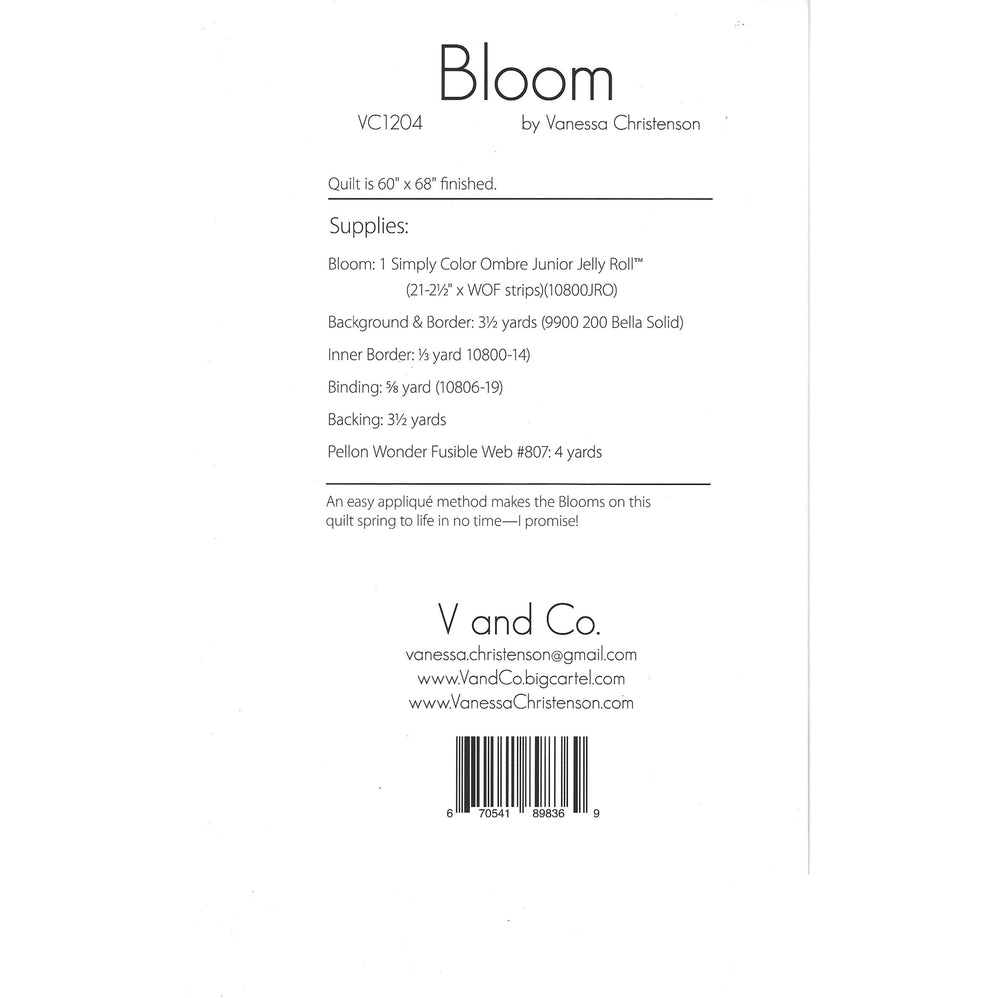 V and Co. - Bloom