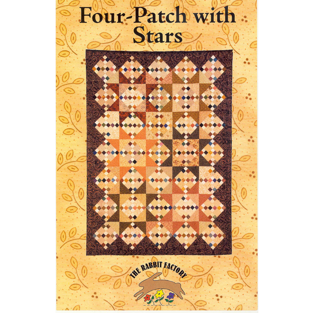 The Rabbit Factory - Four Patch with Stars