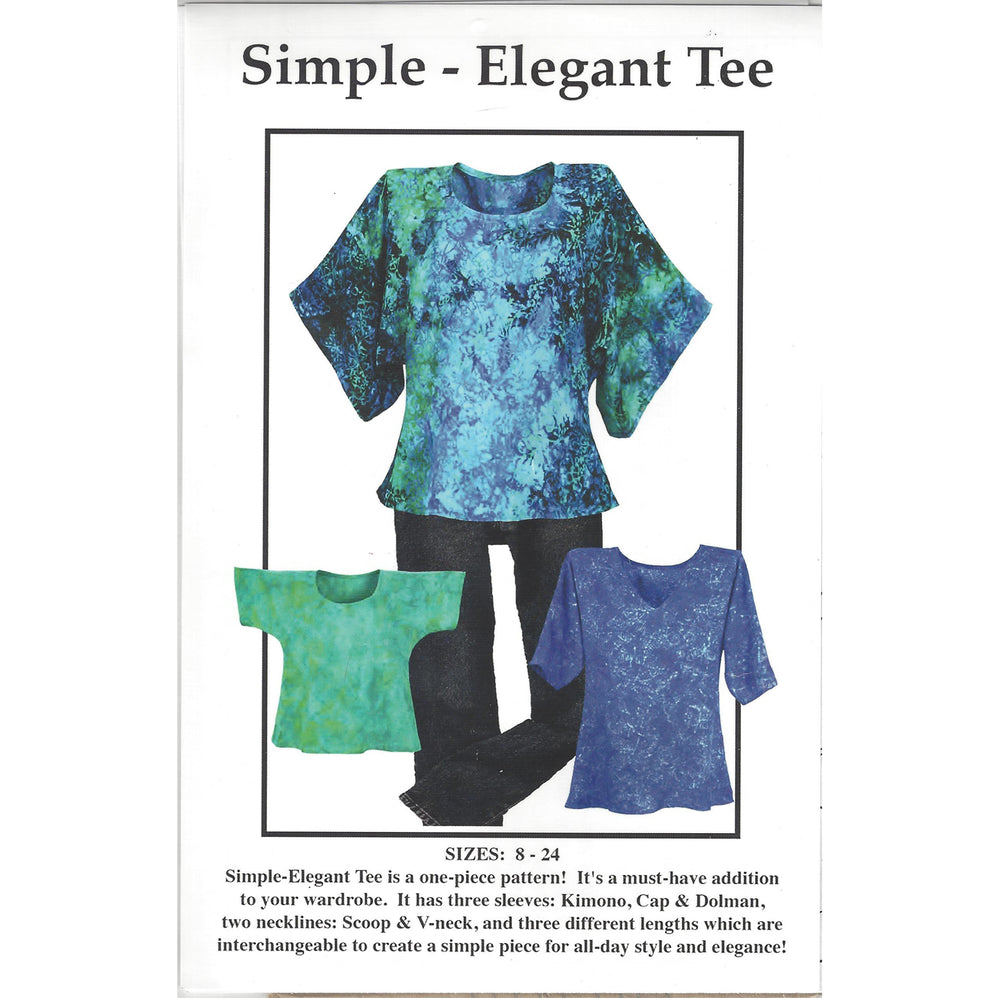Simple - Elegant Tee Pattern