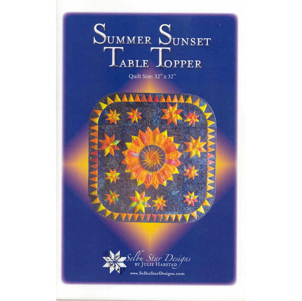 Summer Sunset Table Topper