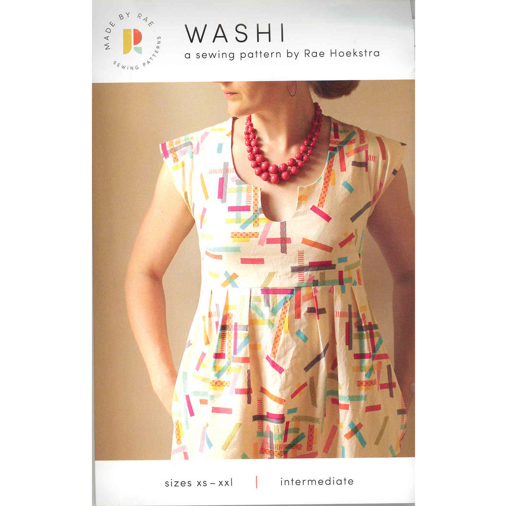 "Trillium Dress Pattern ( Previously Named ""Washi"")"