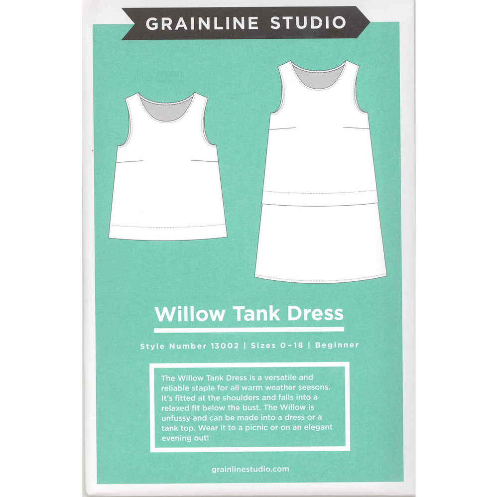 Willow Tank Dress / Rayon Duo