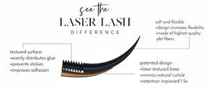 All About Laser Lashes - Try a Sample FREE with Your Order!
