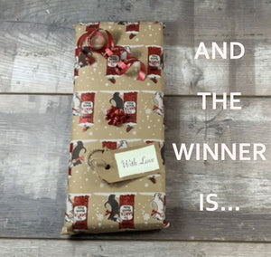 WINNER OF THE CHRISTMAS COMPETITION/GIVEAWAY!