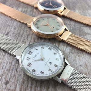 OWL Watches Mesh Bracelet Collections