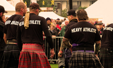 British tradition highland haggis hurling