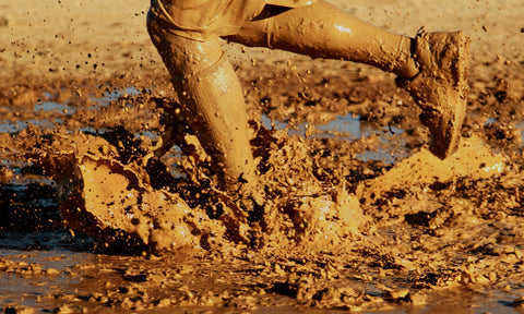 British tradition Maldon Mud Run