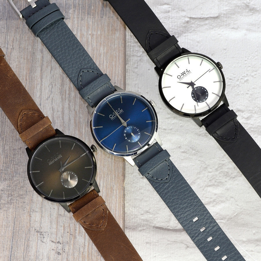 FILTON GENTLEMAN'S TAN LEATHER STRAP WATCH