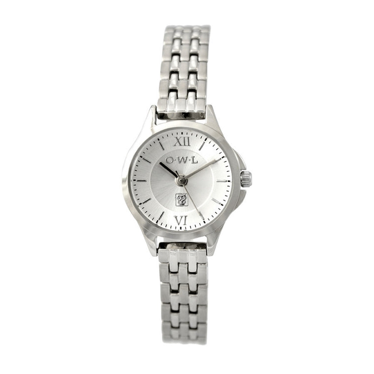 vintage ladies silver bracelet watch