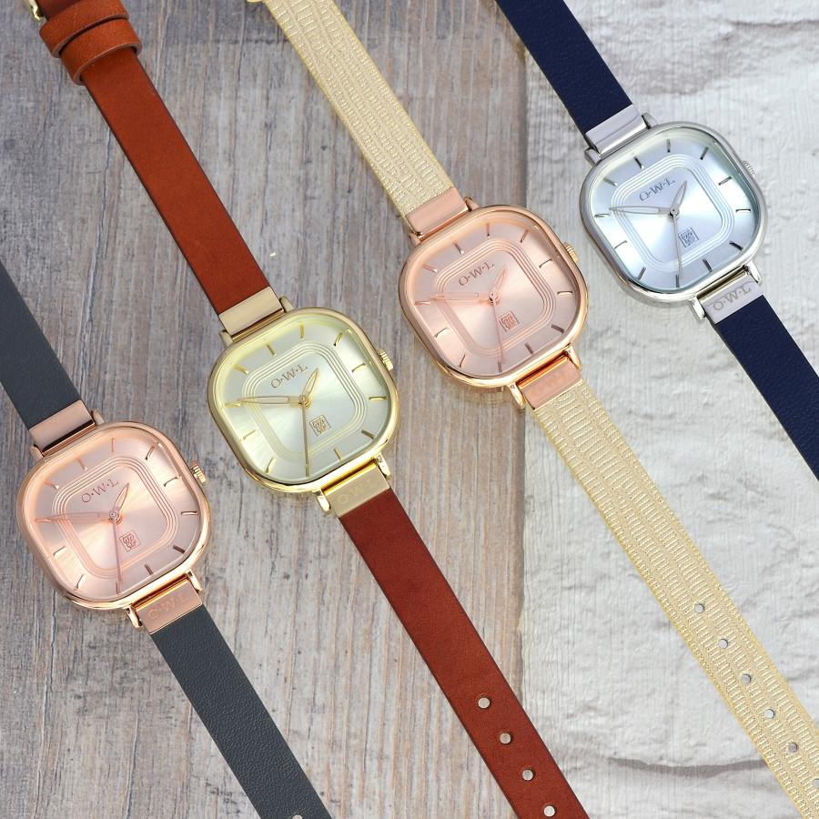 LINCOLN LADIES LEATHER STRAP WATCH