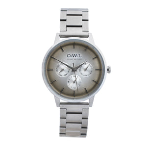 Pembrey silver bracelet - OWL watches