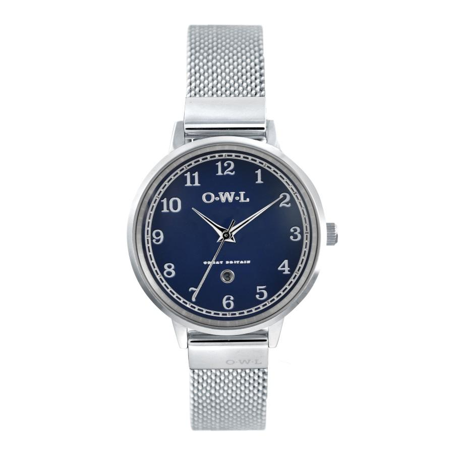 SUTTON STEEL CASE WITH BLUE DIAL & MESH STRAP