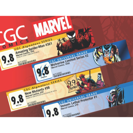 CGC Debuts First Series of 2020 Marvel Labels