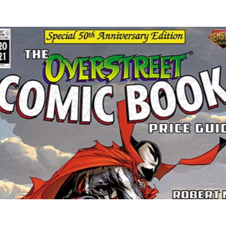 Todd McFarlane Covers Overstreet #50