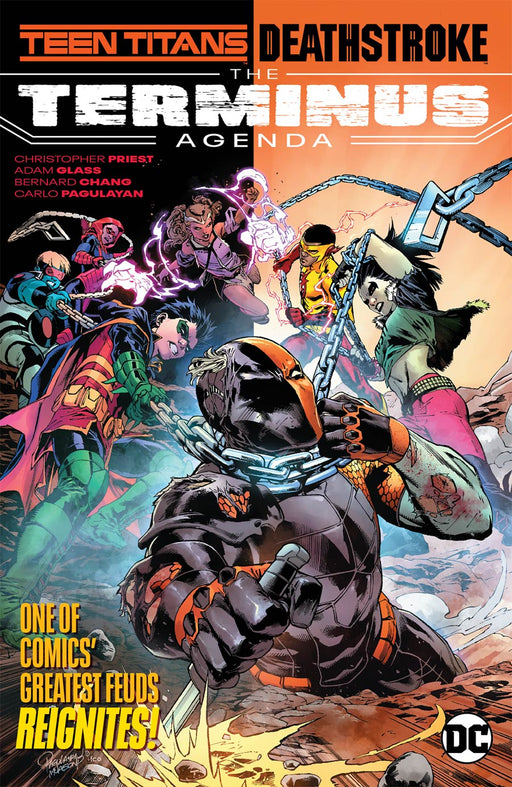 Teen Titans Deathstroke The Terminus Agenda