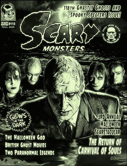 Scary Monster Magazine #118