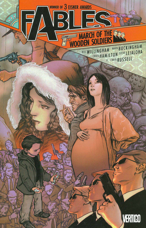 Fables Vol 04 March of The Wooden Soldiers